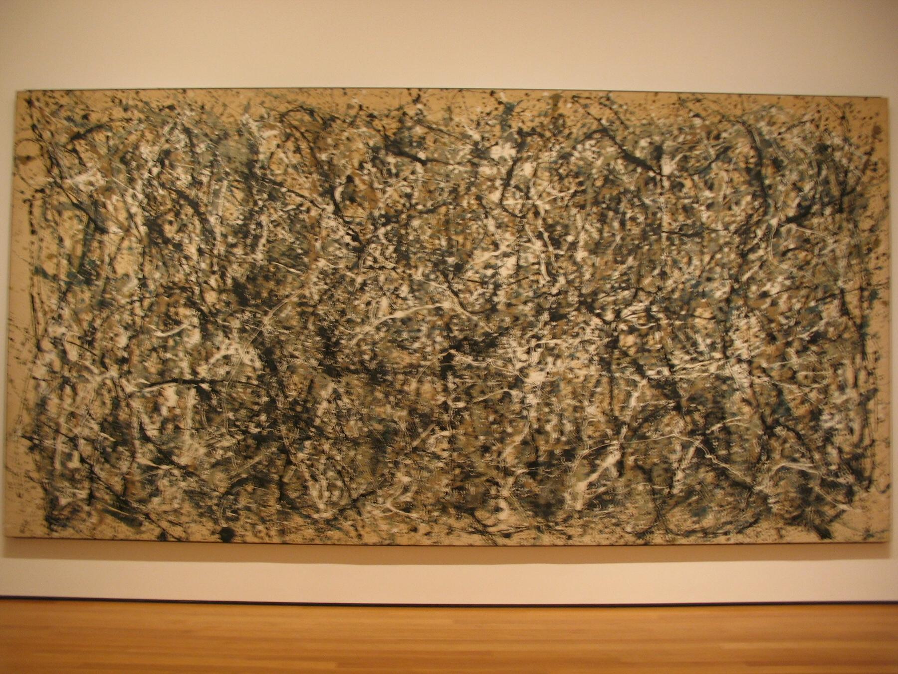 Jackson Pollock Number 1