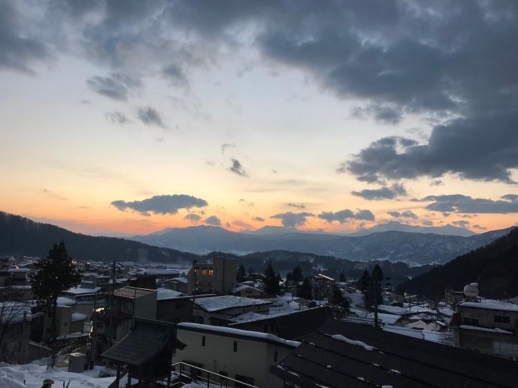 Nozawa Onsen Sunset
