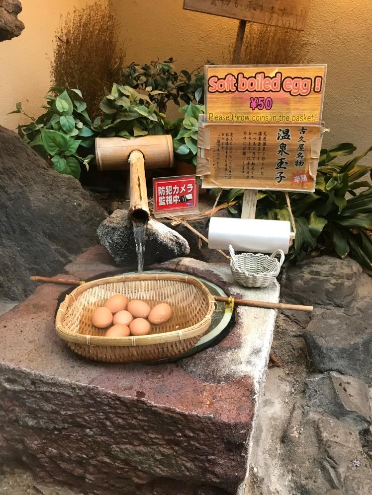 Onsen Egg Japan