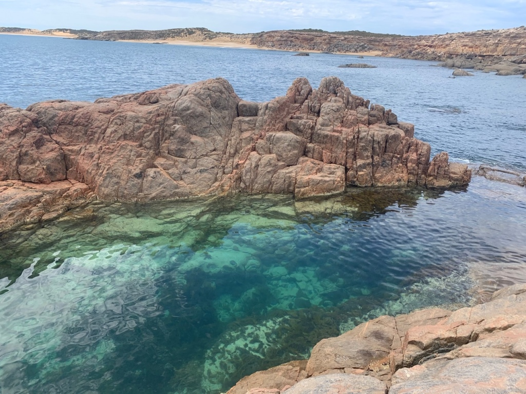 Rock pool South Australia