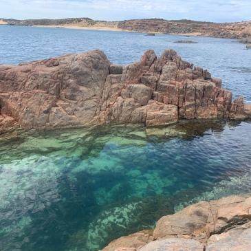 Rock pool South Australia