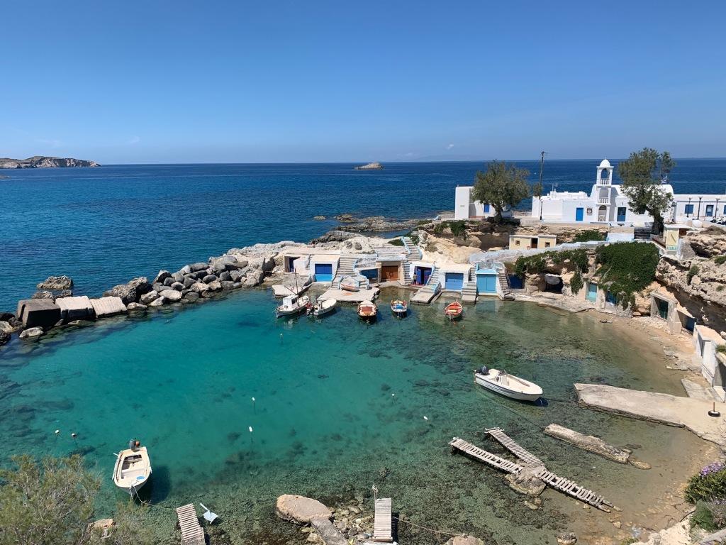 Mandrakia Milos Greece