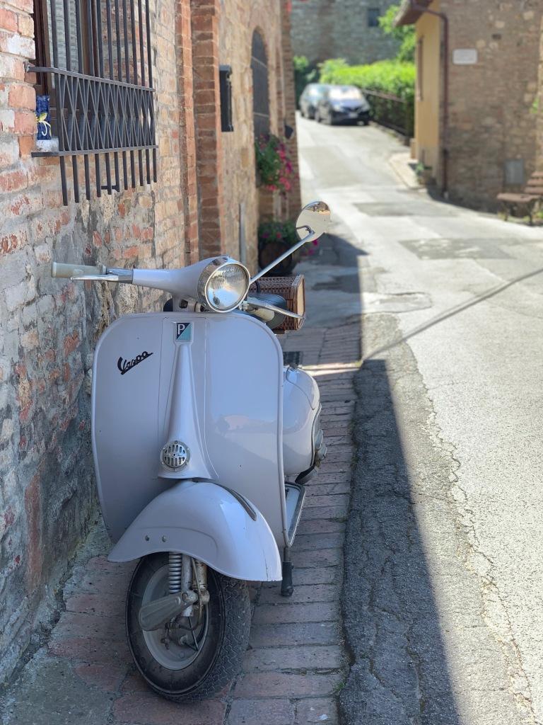 Vespa, Italy