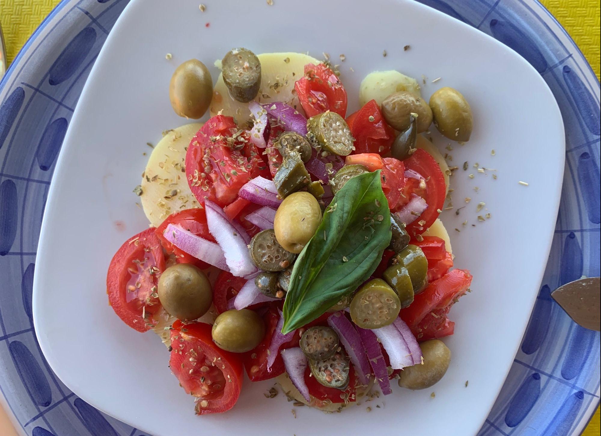 Olive and Caper Salad